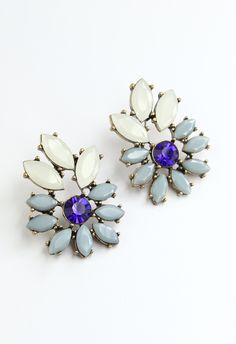 Beads Flowers Earrings