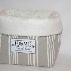 Vide-poche  rangement toile à matelas home sweet home