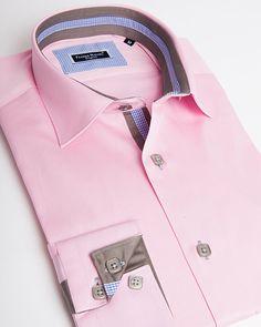 Men's designer shirts - Sheraton blue