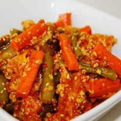 Nyonya Acar Recipe and Step-by-Step Guide (Chinese New Year) Malaysian Cuisine, Malaysian Food, Malaysian Recipes, Indian Food Recipes, Asian Recipes, Healthy Recipes, Asian Desserts, Healthy Food, Chilli Recipes