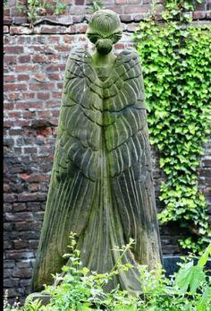 BD. sculpted angel