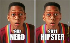 urkel > unless you're not actually urkel