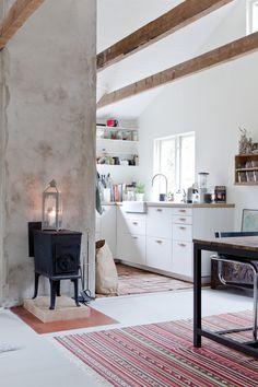 Kolla in Ikea-köket i den här omgjorda stugan! - My home