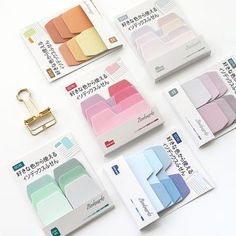 Colored Note Index Paper Card Memo Pad Cute Sticky Note Notepad Paper Stickers for School Office Supplies Stationery Bookmark. Office And School Supplies, School Office, Stationery Shop, Sticker Paper, Stickers, Sticky Notes, Usb Flash Drive, Purple, Cards