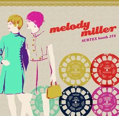 Melody Miller colours