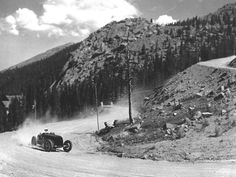 1916 The first Pikes Peak hill climb. It's an amazing event. We will revisit in late June.
