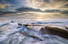 Wind and Sea Beach by Scott Murphy