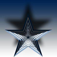 Here comes the Star #3D #Star #Artsy #DallasCowboysPix #DallasCowboys #CowboysNation #RespectTheStar #DCP #DCTrueBlue #AllCowboysEverything