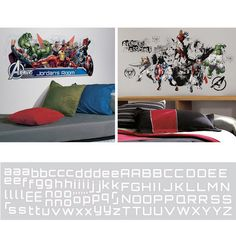 Avengers Assemble Decal Room Package #3 - Wall Sticker Outlet