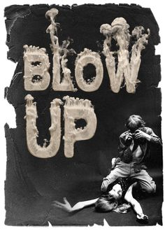 'Blow up' by Handmade Fonts.