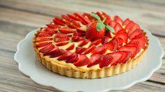Jordbærterte Frisk, Cheesecake, Strawberry, Baking, Tarts, Food, Cake Rolls, Pies, Meal