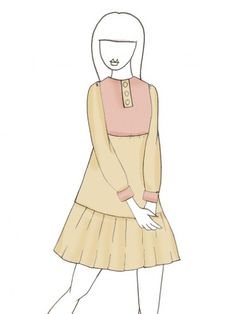 Support and turn this sketch into real product! Alisha Beige by Amy He.