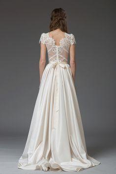 Romantic lace wedding gown by Katya Katya Shehurina | Love My Dress® UK Wedding Blog