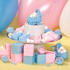Elegant Bulk Large Blue U0026 Pink Baby Shower Favors, Assorted At DollarTree.com