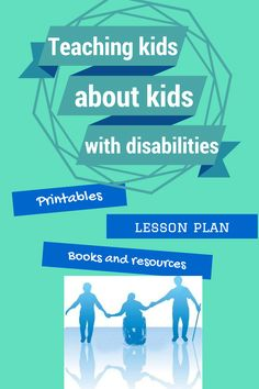 Great list of resources--activities, worksheets, lesson plans, suggested reading books and more--to help non-disabled children better understand their peers and classmates with disabilities and special needs. Social Work, Social Skills, Disability Awareness, Autism Awareness, Teacher Resources, Autism Resources, Teacher Tools, School Resources, Special Needs Kids