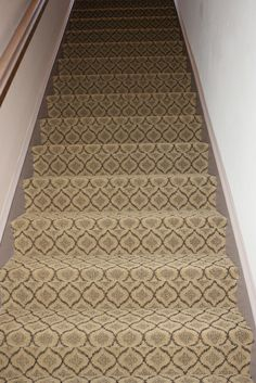 Attractive Masland Pattern Carpet Installed By Simas On Stairs.