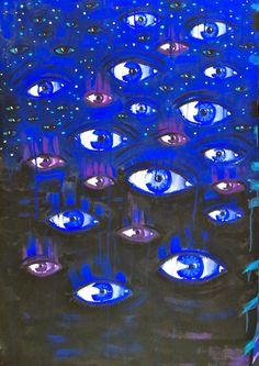 Ischtwan Takatsch © 2014; Augen blicken