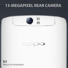 With the N1, we are realizing new possibilities in smartphone photography. Introducing the world's first smartphone with a rotating camera. http://en.oppo.com/n1 #OPPON1