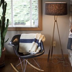 Schoolhouse Electric vignette | Mulberry Tripod Floor Lamp