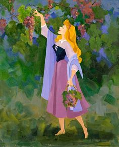 Disney Limited Collection | Grapes for the Table | Liné Tutwiler