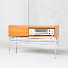 Bolero Audio Cabinet from the sixties by unknown designer for Telefunken