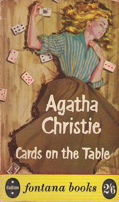 fontana 166 Agatha Christie-Cards on the table