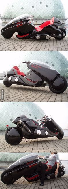 A real AKIRA motorcycle!                                                                                                                                                                                 もっと見る