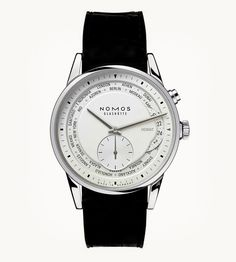 Nomos Zürich Weltzeit, with world time and 24-hour indicator 4080 EUR