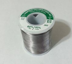 Tin Lead Rosin Core Solder Canfield 60/40 .062inch Diameter Rosin Core 1lb #Canfield