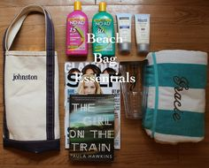 Summer beach bag essentials via With Style and a Little Grace