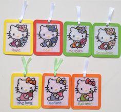 Hello kitty bookmarks 3