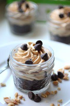Peanut Butter Pie in a Jar