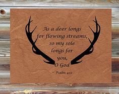 hunting bible verse - Google Search
