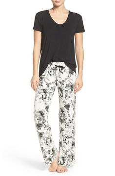 PJ Salvage Jersey Pajamas available at #Nordstrom