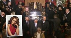 They carried Whitney's casket on their shoulders, wow.