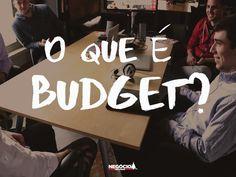 Budget é o seu orçamento. Primeiro passo antes de tomar qualquer decisão a longo prazo: quanto é possível investir para tornar meus planos uma realidade? #Planejamento #Finanças #Budget #JNF