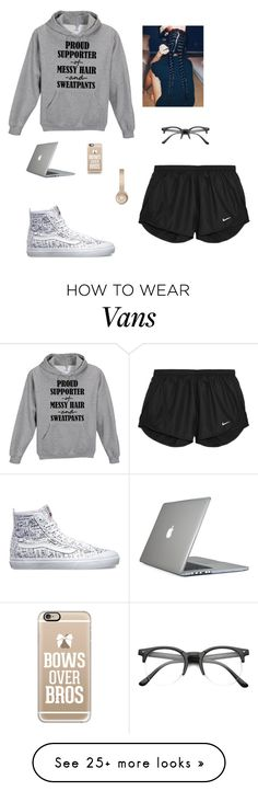 """Just Stayed Home "" by jay-christina on Polyvore featuring NIKE, Vans, Casetify, Speck, women's clothing, women's fashion, women, female, woman and misses"