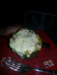 Cut bell pepper in half or jest cut top off take out insides .... cook beef or meat u would like I used extra lean beef with my fav flavoring ... cook rice worm corn .... shred cheese any kid I uses peper jack. .. mix meat corn rice and a lil cheese ... then fill the pepper top with cheese and bake 350 for like 15 20 minutes. .... and done. For a great twist add gravy ......