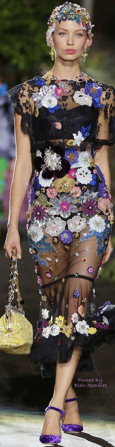 Dolce & Gabbana Alta Moda Fall 2015 Couture ~