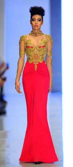 Fouad Sarkis Couture Spring 2014