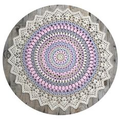 There will be a large size of my new mandala design, right now it is 47 cm Have made a small adjustment in the pattern and are waiting for the new mandala to dry