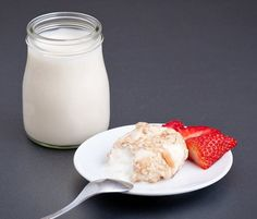 Edible milk bottle. WHAT!?