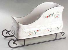 Pfaltzgraff Winterberry sled.  Isn't this cute?!?