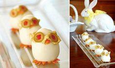 Deviled Egg Chicks Recipe