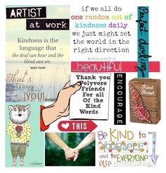 """""""Thank you for kindness"""" by joyfulmum ❤ liked on Polyvore featuring art"""