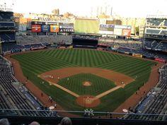 2013年9月、ヤンキースタジアム