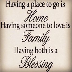 Home & Family - they take on such incredible, powerful forms.  In storm it is amazing to see who takes you in, and in turn, who you will shelter.