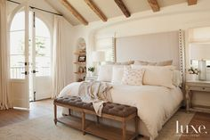 15 Ultra-Chic Headboards | LuxeDaily - Design Insight from the Editors of Luxe Interiors + Design