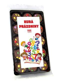 Čokoládové pralinky pro děti - Hurá prázdniny!