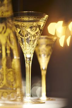 in Black and Gold Baccarat | Tempo da Delicadeza